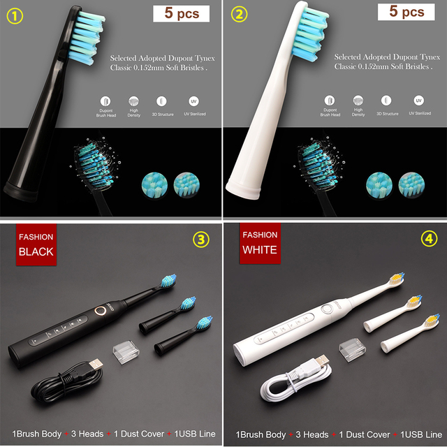 Rechargeable Top Quality Smart Electric Toothbrush