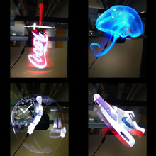 Xintai Touch 3D Голограмма рекламный дисплей светодиодный вентилятор голографическое изображение с быстрой бесплатной доставкой