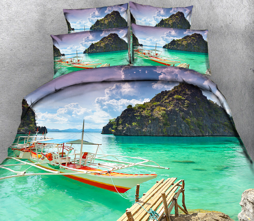 luxury bed linen California king 3D bedding sets Duvet Pillowcase bed cover Twin king Queen Bed Linen Textiles Drop Ship Sceneryluxury bed linen California king 3D bedding sets Duvet Pillowcase bed cover Twin king Queen Bed Linen Textiles Drop Ship Scenery