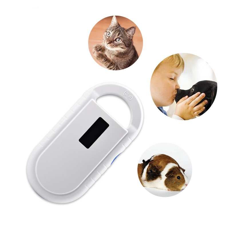 134.2KHz FDX-B  Animal Microchip Reader ID64 Fdx-b Smaller Simpler Handheld Scanner Dog Chip Syringe Reader For Animal Ear Tags