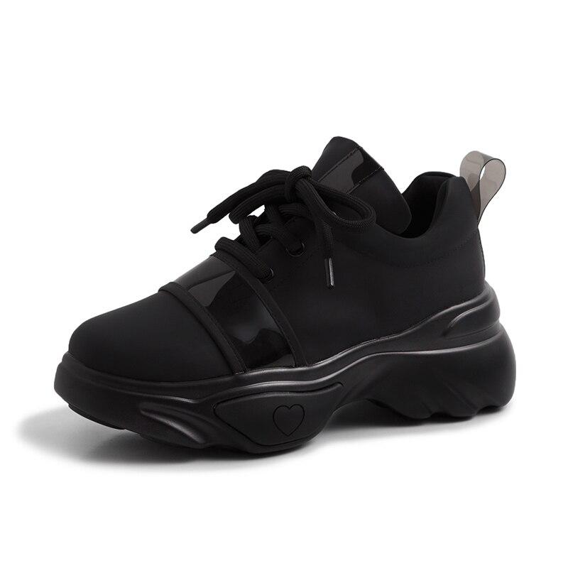 Sarairis 2019 Amie Nouvelle Supérieure Grande Pour Taille noir Plate 35 D'été Beige Femme Qualité 42 Lacets Chaussures forme À De Baskets gbYfy76