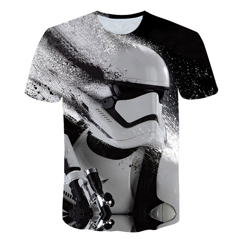 New Fashion Harajuku T Shirts Vader Star Wars Printed 3D T Shirt Men/Women T Shirt Streetwear Hip Hop T-Shirt Casual Tops M-5XL