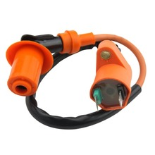 GOOFIT 135 Degree Elbow Performance Ignition Coil for GY6 50cc 60cc 80cc 125cc 150cc ATV Go Kart Moped Scooter  H053-007 goofit gy6 4 stroke ignition coil plug for china made 50cc 70cc 90cc 110cc 125cc atv scooter dirt bike go kart moped h053 018 2