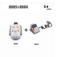 L Brand 8884 8885 IR Remote Control Signal Receiver Motors L Brand Power Functions Technic Motor Series Battery Box LED Light