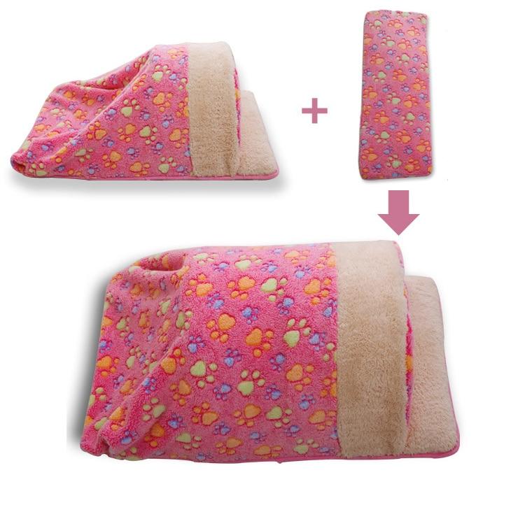 Dog House Bed Winter Warm Sweet Cama Para Cachorro Pet Kitten Puppy Cat Dog Cushion Couch Basket Sofa Bed Mat Pad