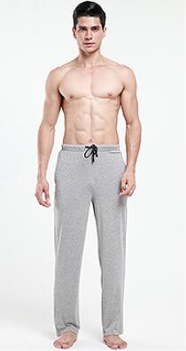 New Fashion Sleep Bottoms Men's Casual Trousers Soft Comfortable Homewear Pants Pajama Lounge Clothing