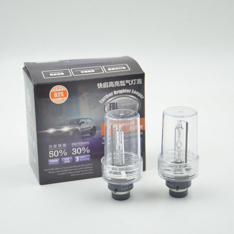 Aozoom Super Quality 1 Pair  D2S 5600K Bulb