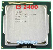 Frete grátis original intel i5 2400 processador quad-core 3.1 ghz lga 1155 tdp: 95 w 6 mb cache i5-2400 desktop cpu