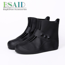 BSAID Waterproof Shoes Cover 5 Colors Quality Non-slip Rain Cover For Men Women Kids Shoes Elastic Reusable Rain Boots Overshoes