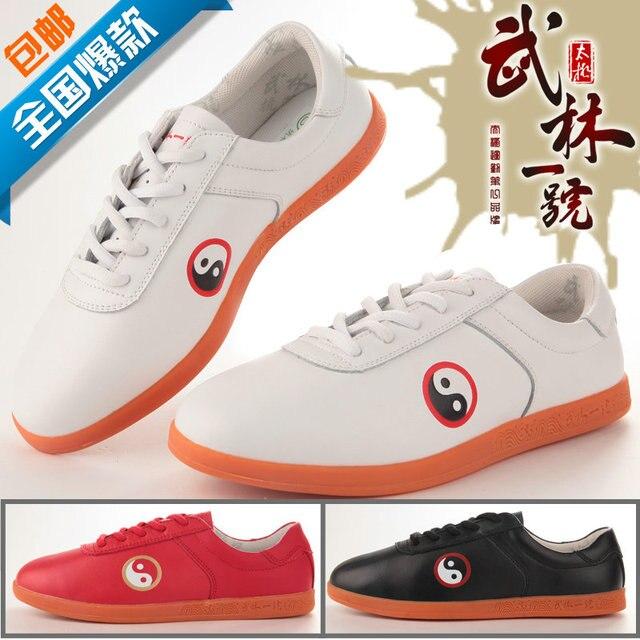 Обувь Dichotomanthes конец практика Тайцзицюань боевых искусств обувь для мужчин и женщин разделе Тай-Чи обувь expertsNote размер