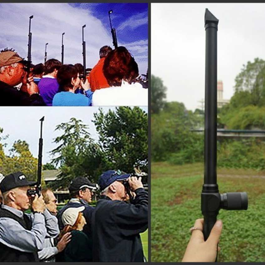 Táctica Periscope 5x sportscope altura ajustable rifle alcance para airsoft Caza Tiro Caza monocular telescopio pájaro