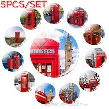 5шт/комплект Англия Лондон Биг Бен стеклянный купол 25 мм ручной работы британский автобус Телефонная будка изготовления ювелирных изделий поставок кулон аксессуары