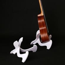 Gitar tutucu Ukulele raf Ukulele katlanır dikey stant