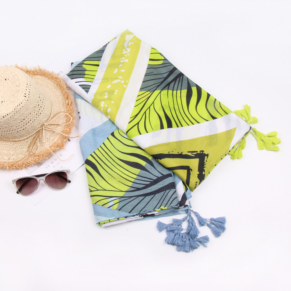 Women sleeve stripe print scarf fashion retro female multipurpose shawl scarf winter scarf luxury brand 2018 hot sale