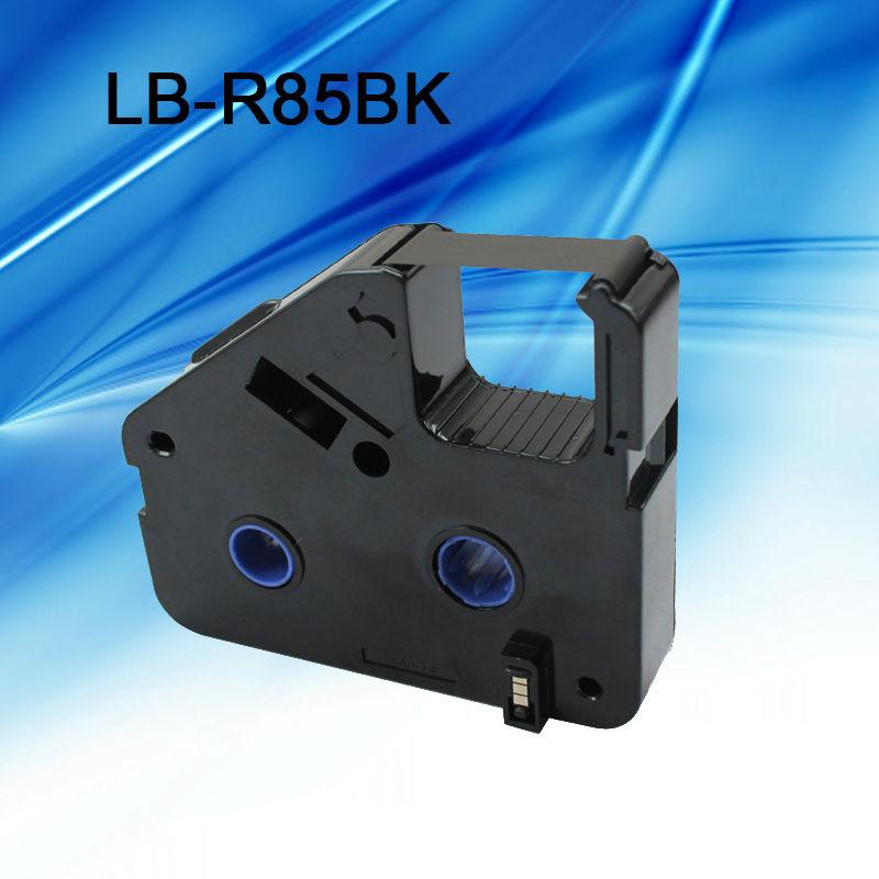 5Pcs ink ribbon cassette LB R85BK Black for cable ID printer electronic lettering machine tube printer