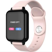 Fashion B57 color screen smart watch heart rate blood pressure oximeter step call reminder Bluetooth waterproof sports bracelet m4s waterproof smart bracelet heart rate oximeter step waterproof swimming health multi function intelligent sports watch