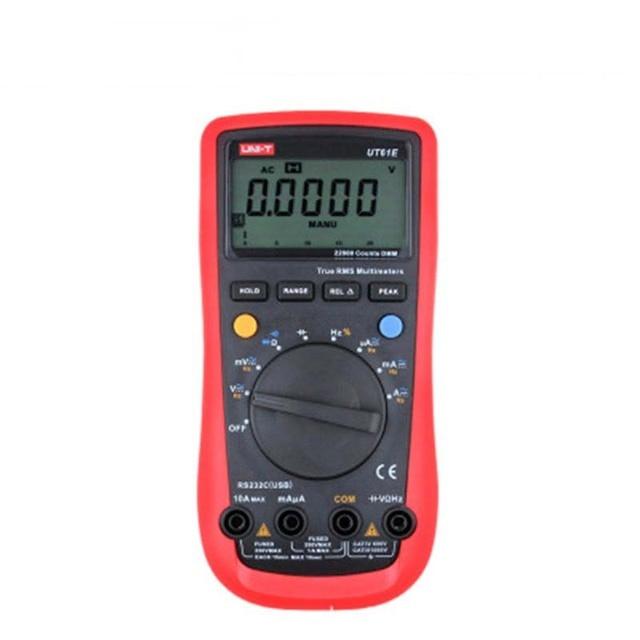UNI-T UT61A UT61B UT61C UT61D UT61E Digital Multimeter true rms auto range AC/DC amperemeter Multi Meter multimeter LCD backligh