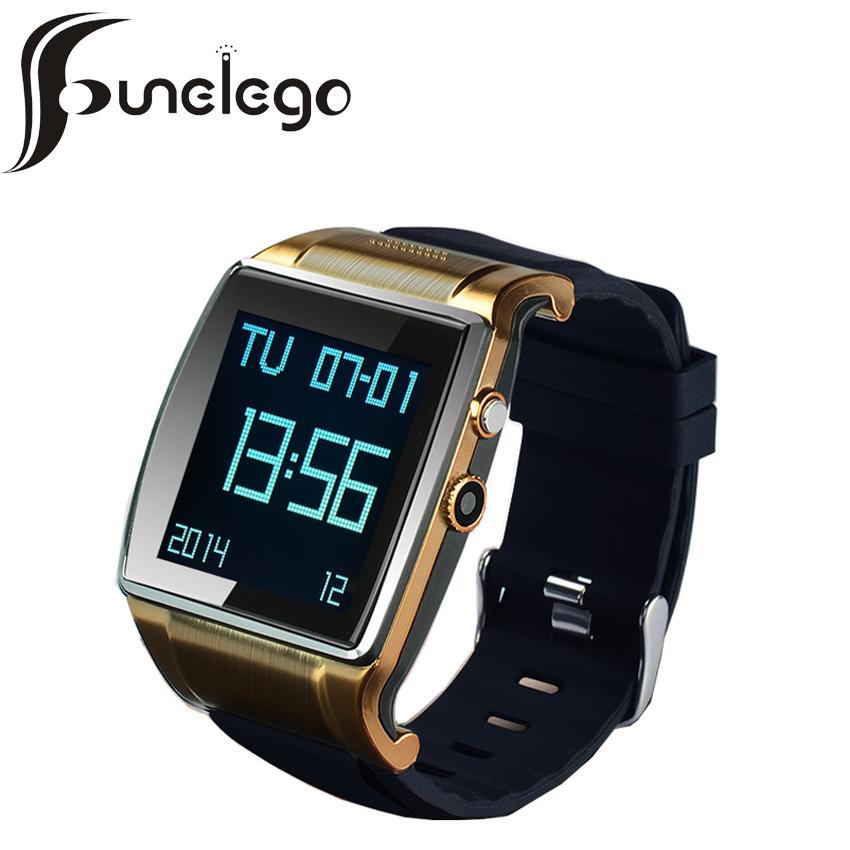 Prix pour Funelego nouvelle smart watch heure portable électronique étanche poignet android montres avec sim pour iphone téléphone portable intelligent horloge