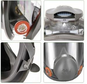 Image 5 - Original 3M 6800 Painting Spraying Respirator Gas Mask Industry Chemcial Full Face Gas Mask Facepiece Safety Respirator Medium
