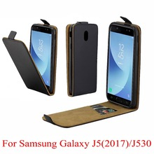 For Samsung Galaxy J5 2017 J530 Cover Luxury PU Leather Flip Case For Samsung Galaxy J5 2017 J530F Vertical Open Down Up Cover цена и фото