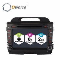 Octa Core Android 6.0 Car DVD Player for Kia sportage R 2010 2011 2012 2013 2014 2015 GPS Navigation Radio Stereo BT 4G 2GB RAM