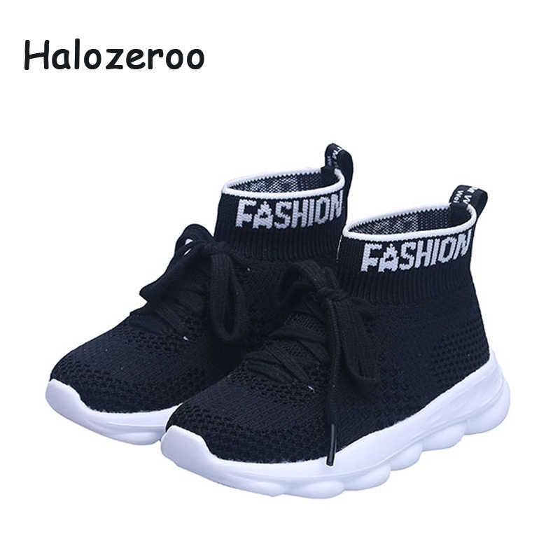 ฤดูใบไม้ผลิเด็กใหม่รองเท้าเด็กตาข่ายรองเท้าเด็กสาวกีฬารองเท้าผ้าใบชายแฟชั่นสบายๆรองเท้าเทรนเนอร์ 2019