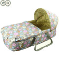 0-7m Cotton Baby Sleeping Nest Basket Portable Baby Crib Cradle Sleeping Bag Shark Newborn Cotton Breathable Bedding Car Seat