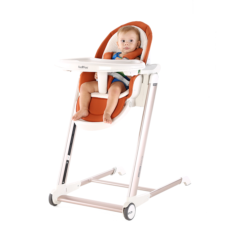 Foofoo children's dining chair portable baby dining chair multi-function can be sitting can be folded baby dinette foofoo baby stroller high landscape can be sitting can belying babystrollers folded two way portable baby carriage