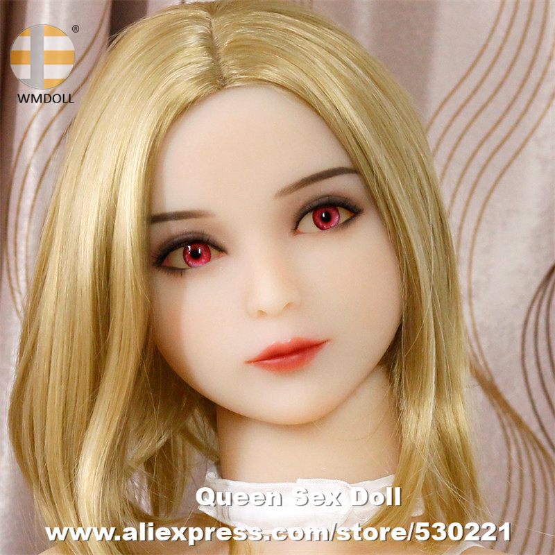 WMDOLL Top Quality TPE Love <font><b>Doll</b></font> Head Oral Toys Adult Product Man Heads For Japanese <font><b>Silicone</b></font> <font><b>Sex</b></font> <font><b>Doll</b></font> Body From <font><b>140cm</b></font> To 172cm image