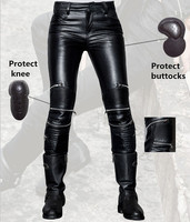 Free shipping 2017 uglybros ubp021 leather pants women's motorcycle protective pants locomotive riding leather pants racing pant