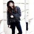 2015 Winter Fashion Luxury Quality Slim Warm Women Faux Fur short Coat Overcoats Women's Fur Outerwear Coats PC010