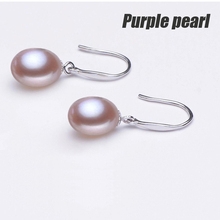 Real Natural Pearl Earrings