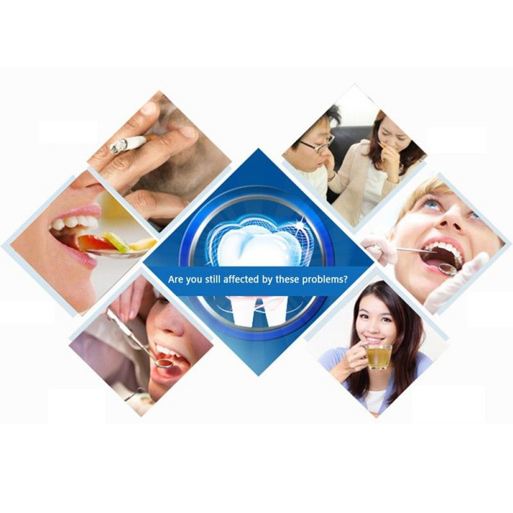 Toothpaste-Cleaning Activated-Charcoal Packing Teeth-Whitening-Powder Organic Bamboo