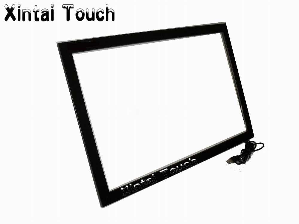 Miễn phí vận chuyển! 1 PCS 55 inch + 1 PCS 65 inch Bất 10 điểm IR Khung màn hình Cảm Ứng với Độ Nhạy Cao cho cảm ứng bảng điều chỉnh