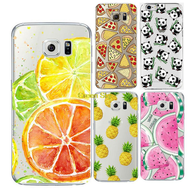 b8182504b29 Fruit Ultra Thin Soft TPU Gel Transparent Crystal Silicon Silicone Cover  Fundas Coque for Samsung Galaxy Grand Prime Case