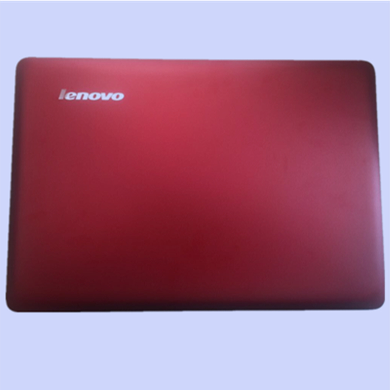 Original Metal Red and Gray LCD Cover Back Top Case Top Cover A shell for Lenovo U410 цена