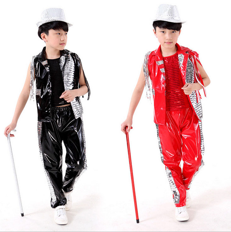 Kid Fringe Sequin Ballroom Modern Jazz Hip Hop Dance ...