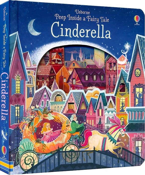 Britain Original English 3D Flip Book  For Children Usborne Peep Inside A Fairy Tale Cinderella  Education