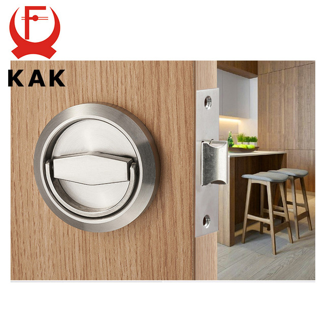 Aliexpress.com : Buy KAK Hidden Door Locks Stainless Steel Handle ...
