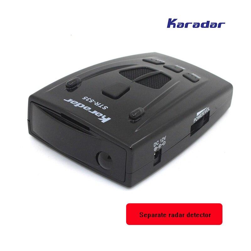 KARADAR Voiture radar Détecteur STR535 Icône Affichage X K Laser Strelka Anti Détecteur de Radar Qualité purement mobile caméra détecteur - 4