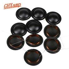 12 шт. 25,5 мм одинаковые шелковые купольные пинтеры, звуковая катушка 6 Ом 8 Ом, мембрана KSV, универсальные 25,5 ядра, 100 шт.