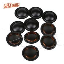 12 CHIẾC 25.5mm Cùng Bên Silk Dome Loa Kéo Cuộn Dây Bằng Giọng Nói 6OHM 8Ohm Màng KSV Đa Năng 25.5 Core 100 cái