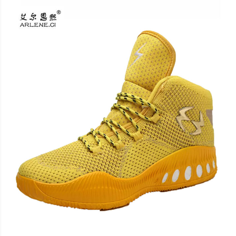 b43d48942905 2018 Hot Sale Men Basketball Shoes Court Male Basketball Ankle Boots for  Men Trainning Anti Slip Sports Sneakers Plus Size 39 45-in Basketball Shoes  from ...