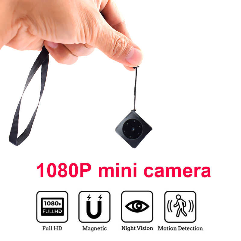 Mini Camera Secret Cam 1080P Full HD Night Vision Motion Detection Small Portable Sport DV video Camcorder support hidden TFcard