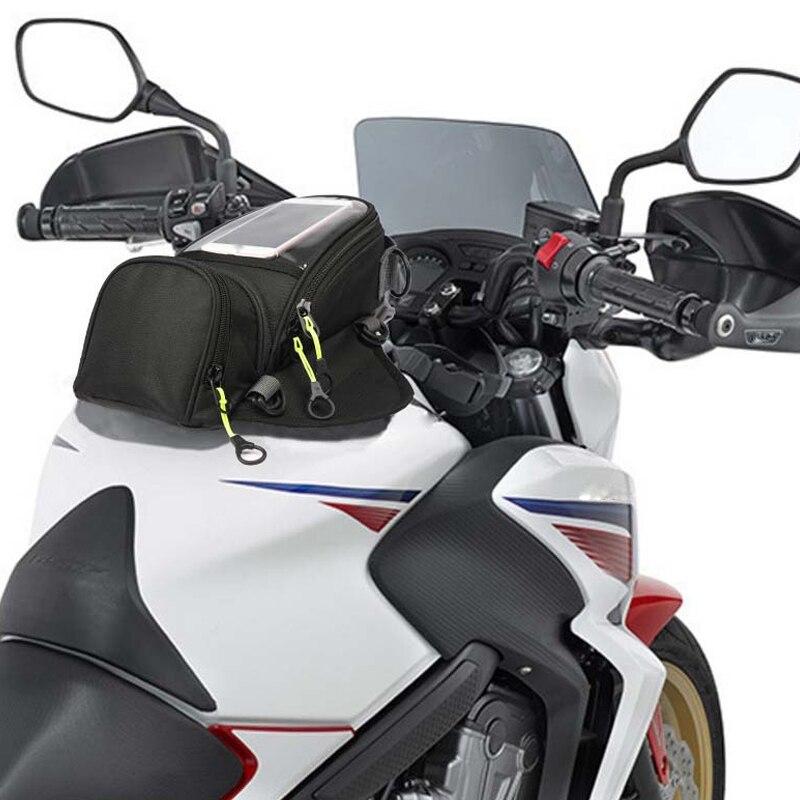 Motobike Fuel Tank Bag Phone GPS Charge Navigation Magnetic Waterproof For Honda