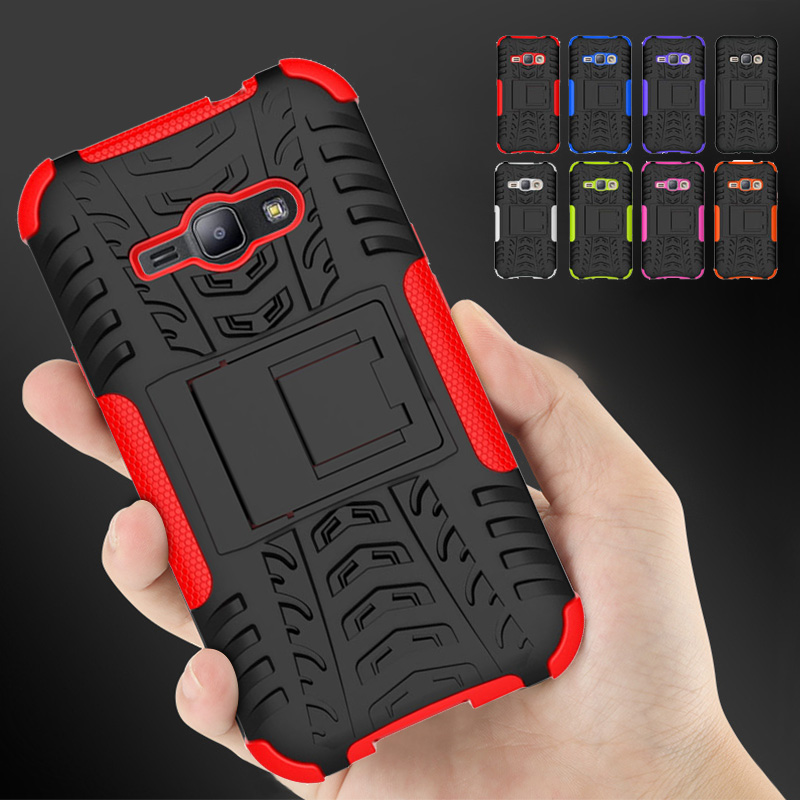 a34d4f53580 Silicone + PC Case For Samsung Galaxy J1 ACE J110 Cover cell Phone Bag