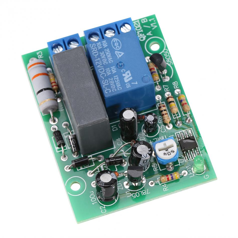 Ac 220v Relay Module Switch Trigger Time Delay Circuit Timer Cycle Photo Adjustable Timing Turn Off Board