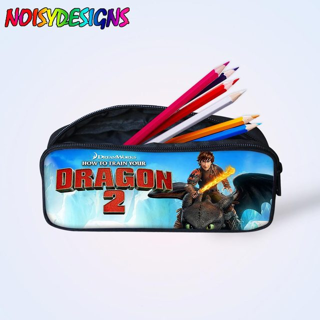 73e89acc6c05 US $7.2 40% OFF|Women Makeup Bag How to train your dragon Pencil Bags  Cosmetic Cases Cartoon Children Pen Pouch for Child School Supplies Mini  -in ...