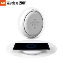 Оригинал Xiao mi Беспроводное зарядное устройство 20 Вт макс турбо Зарядка для mi 9 (20 Вт) mi X 2 S/3 (10 Вт) Qi EPP совместимый мобильный телефон (5 Вт)