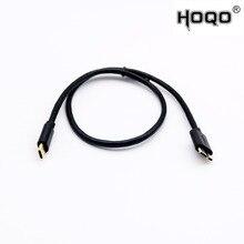 1x זהב מצופה USB 3.1 סוג C זכר USB 3.0 מיקרו B זכר תקע HDD מארז מהיר נתונים סנכרון מחבר כבל 0.5 m/1 m/1.8 m